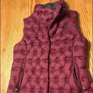The North Face Maroon Vest